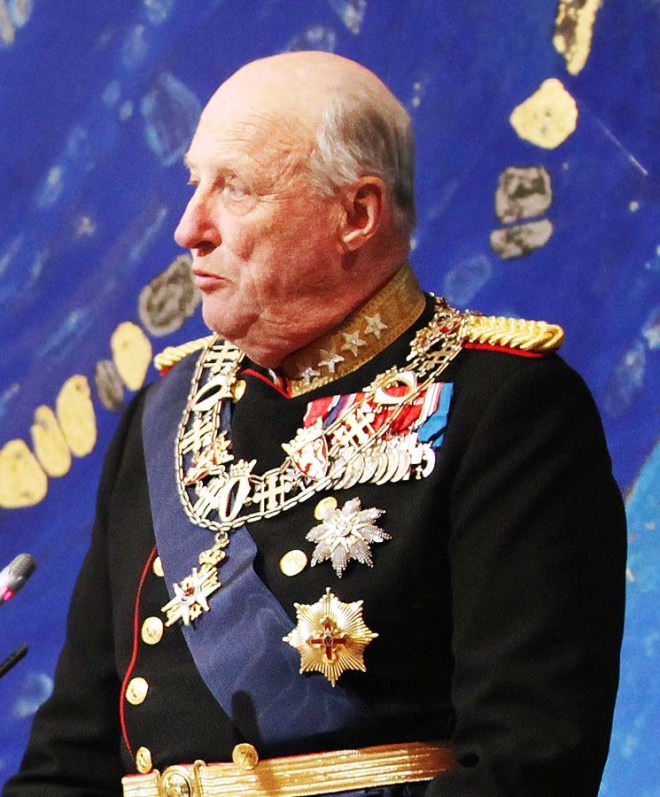 harald V de norvège