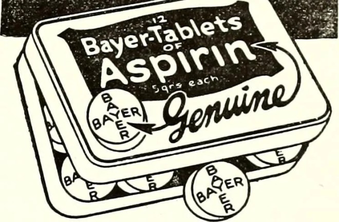 bayer aspirin photo