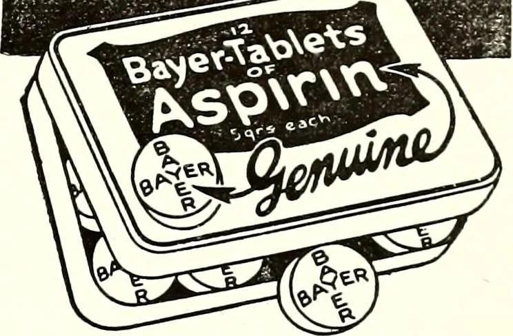 bayer aspirin photo
