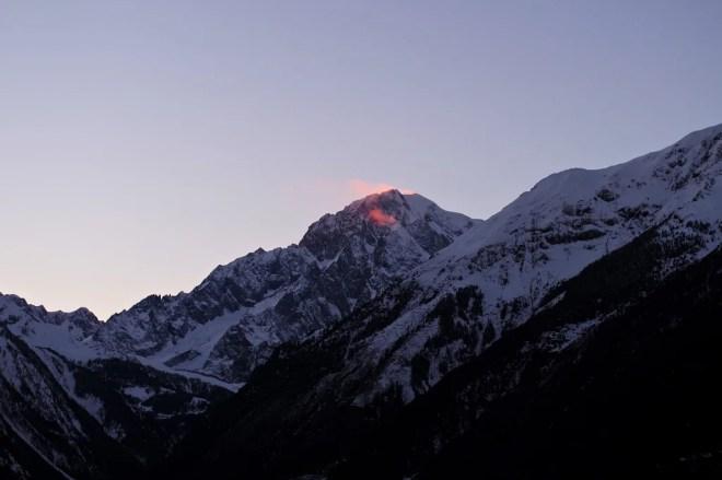 mont blanc photo
