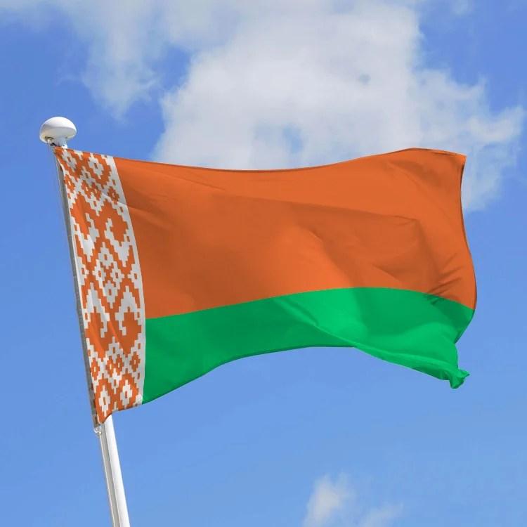 drapeau bielorussie