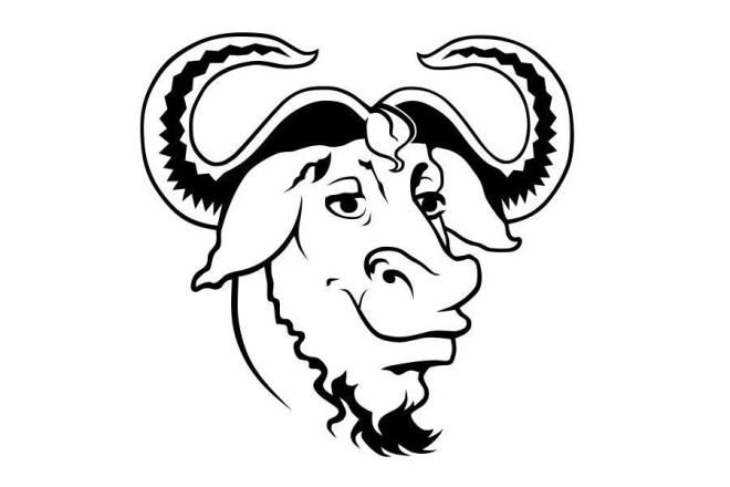 gnu logo photo