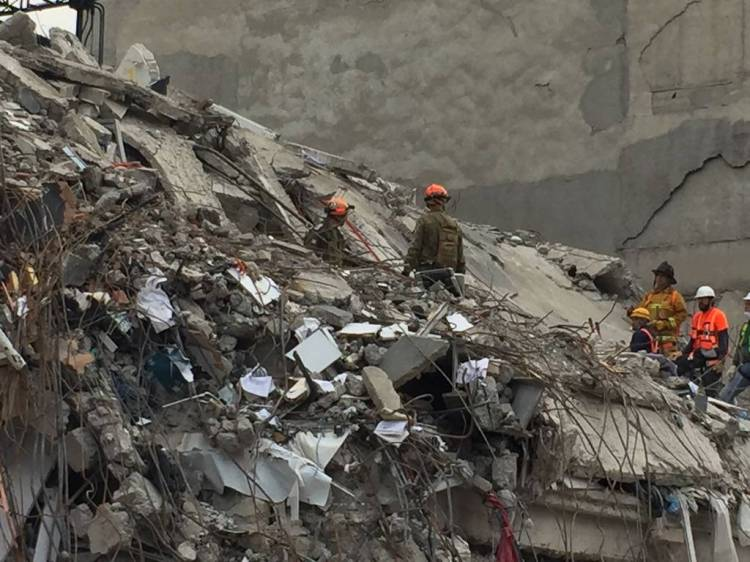earthquake mexico photo