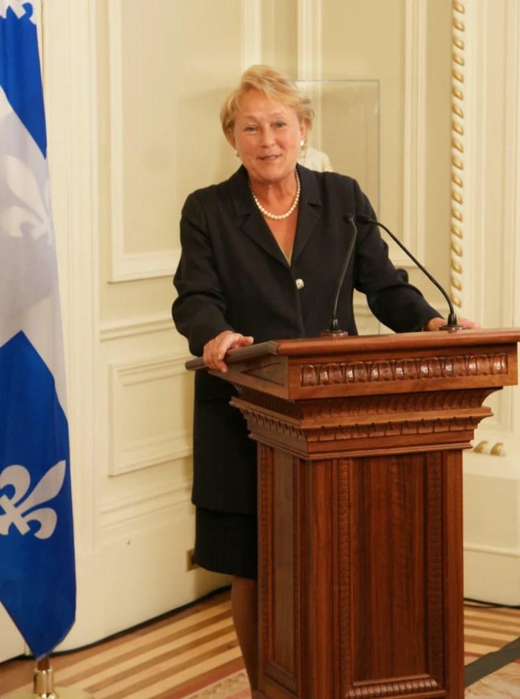 Pauline Marois photo