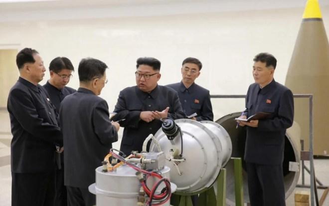 kim jong un et le misslie nucléaire un 3 septembre