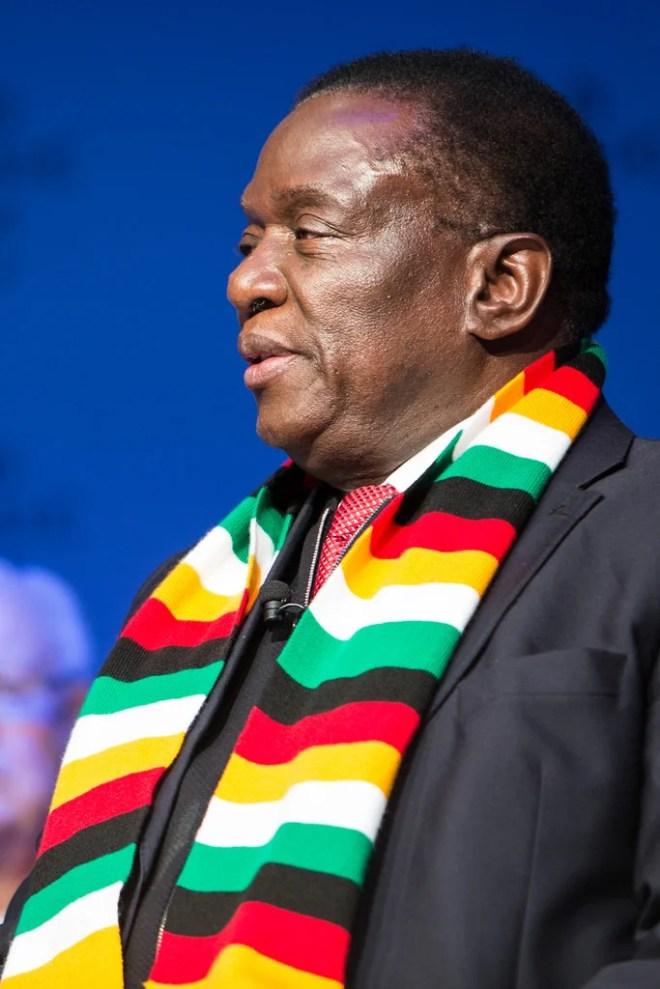 Emmerson Mnangagwa photo
