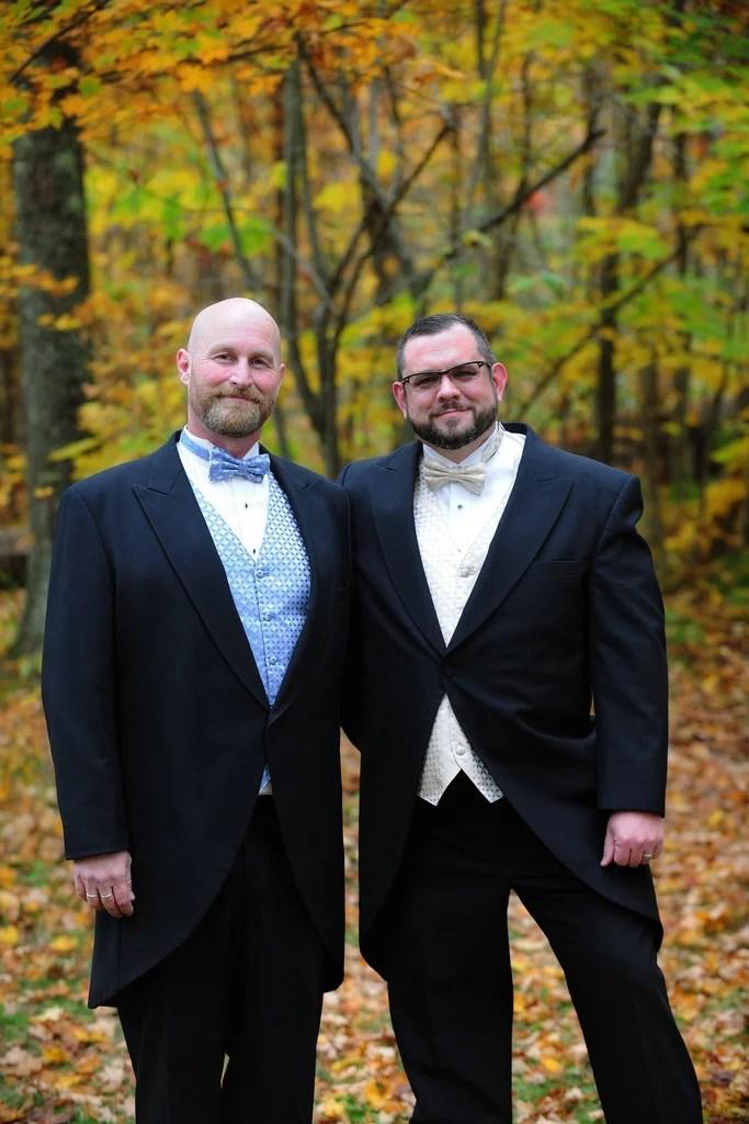gay wedding photo