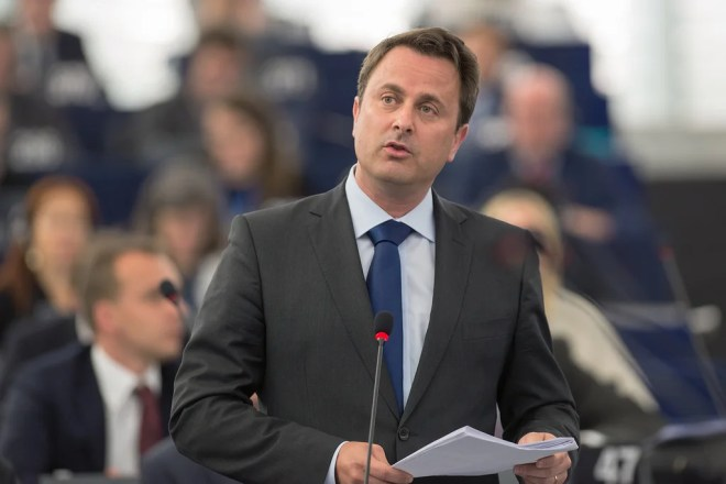 Xavier Bettel photo