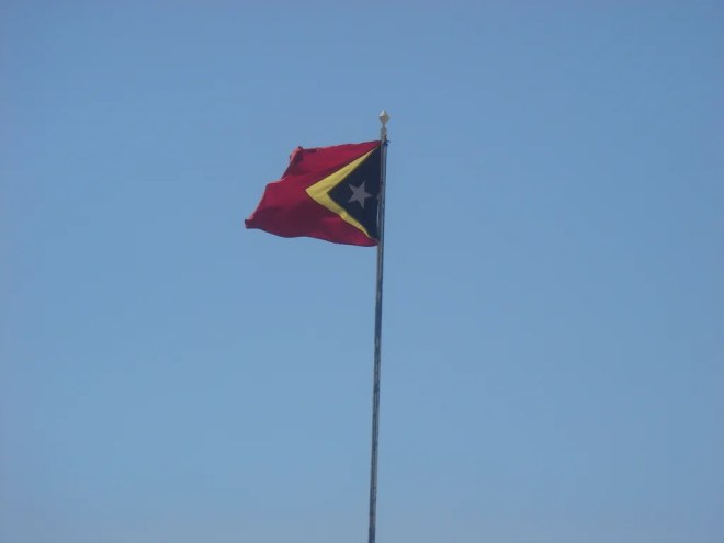 timor-leste flag photo
