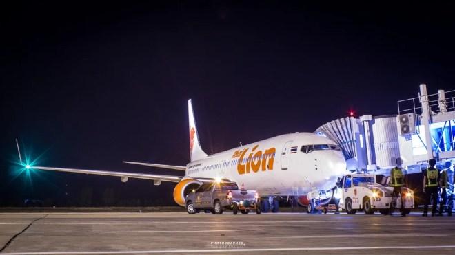 boeing 737 lion photo
