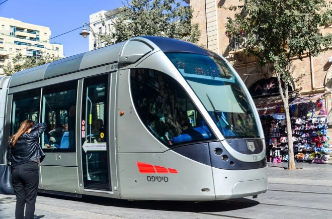 tramway jerusalem photo