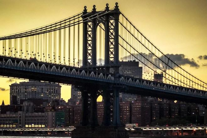 manhattan bridge photo
