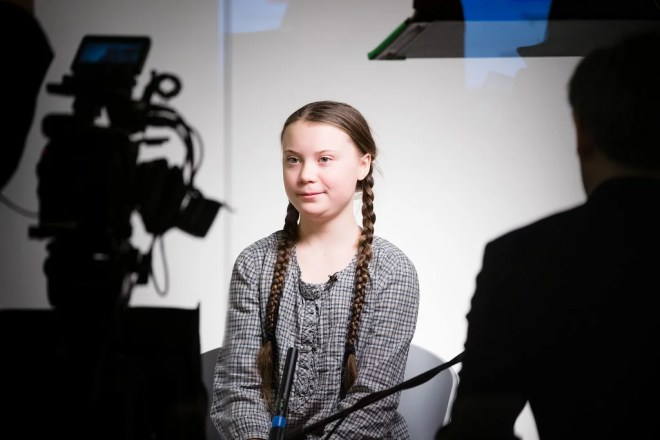 Greta Thunberg photo