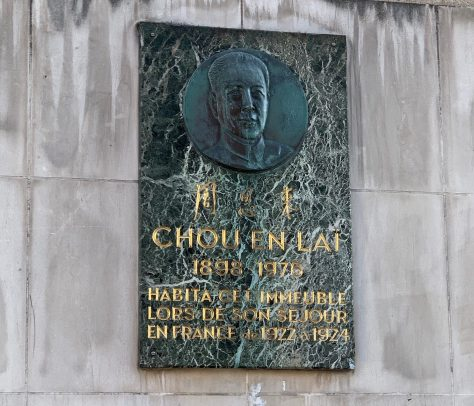 Zhou Enlai Paris