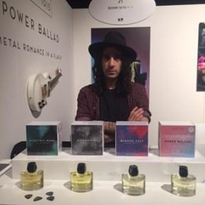 Michael Partouche, docteur en pharmacien, musicien et parfumeur