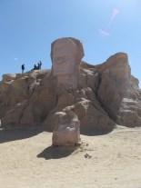 Statue de Abou el Kacem Chebbi ( un poète tunisien d'expression arabe unanimement considéré comme le poète national de la Tunisie)