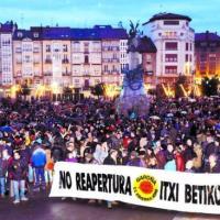 Nueva concentración de la Coordinadora contra la reapertura de Garoña en Burgos