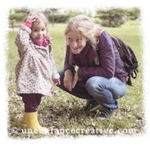 Portrait Fanny et Petite Bulle du blog Une enfance créative