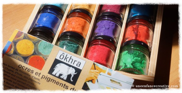 Pigment Okhra