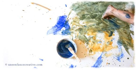 Activité peinture grand format 3