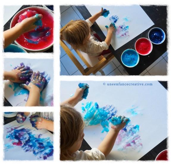Atelier peinture tactile