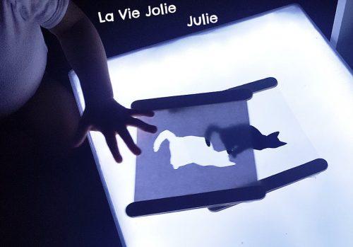 Siilhouettes lumière ©la vie jolie julie