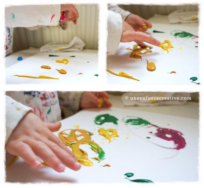Peinture enfant gouache