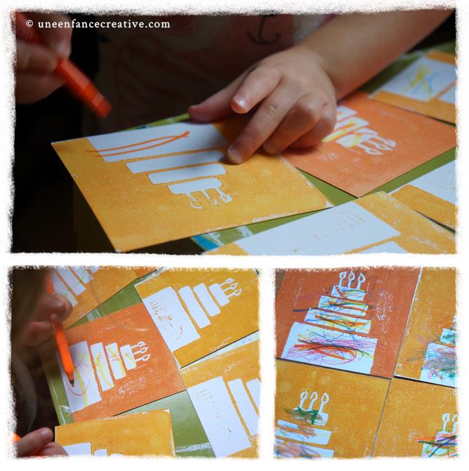 Personnalisation des cartes d'invitation