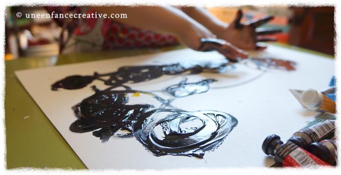 Patouille peinture