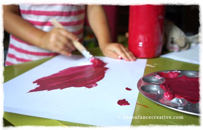 Peindre et fabriquer champignons
