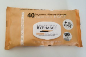 lingettes demaquillantes Byphasse
