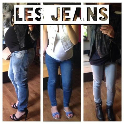 Enceinte jeans grossesse