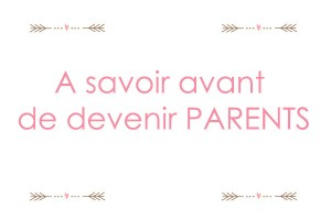 avant d'être parents
