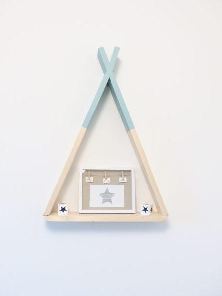 DIY etagète tipi - blog maman