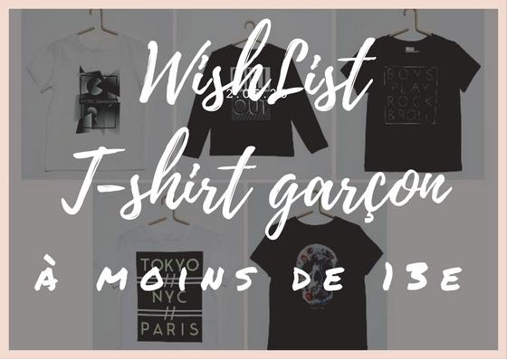 t-shirts pour petit garçon - blog maman