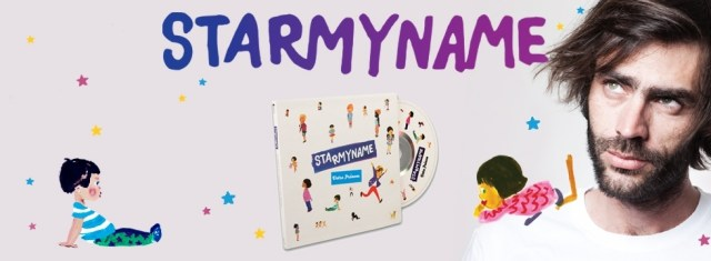 CD personnalisé starmyname - concours blog maman