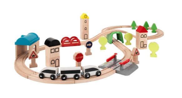 train en bois cadeaux enfant 4 ans