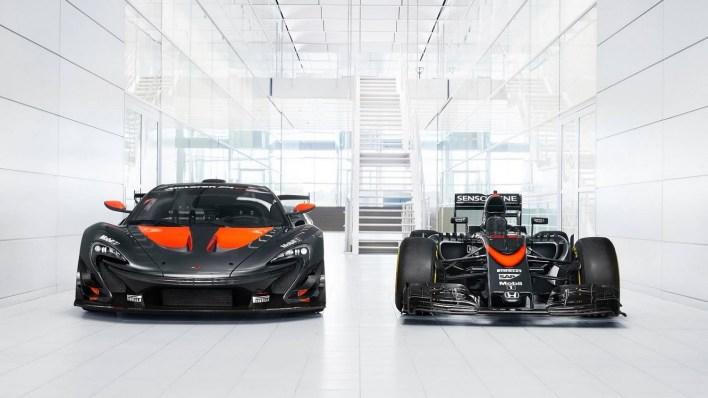 McLaren P1 GTR F1 1