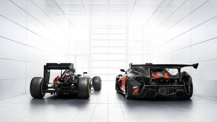 McLaren P1 GTR F1 3