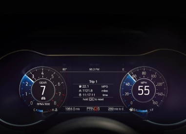 compteur-ford-mustang-2018