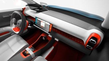 Citroën C-Aircross Concept planche de bord