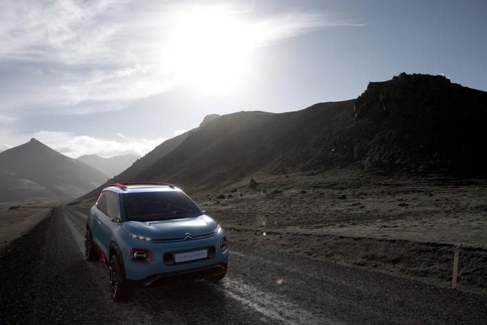 Citroën C-Aircross Concept avant 5