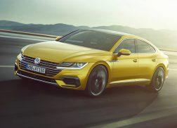 Volkswagen Arteon dynamique avant r-line jaune 2