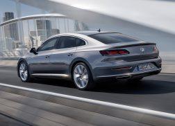 Volkswagen Arteon dynamique gris face arrière
