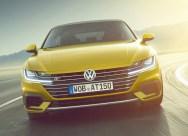 Volkswagen Arteon face avant r-line dynamique jaune