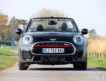 Mini John Cooper Works Cabrio face avant
