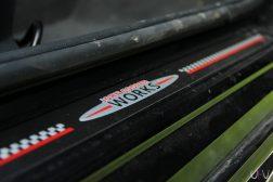 Mini John Cooper Works Cabrio seuil de porte JCW