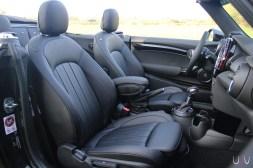 Mini John Cooper Works Cabrio sièges avant