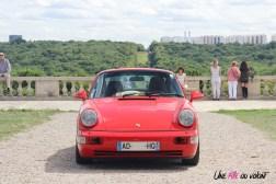 Traversée de Paris estivale 2017 Porsche 964