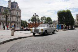 Mercedes 280 SE Paris Balade